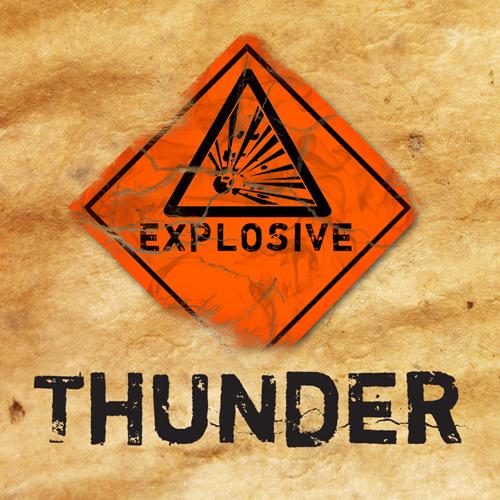Explosive thunder