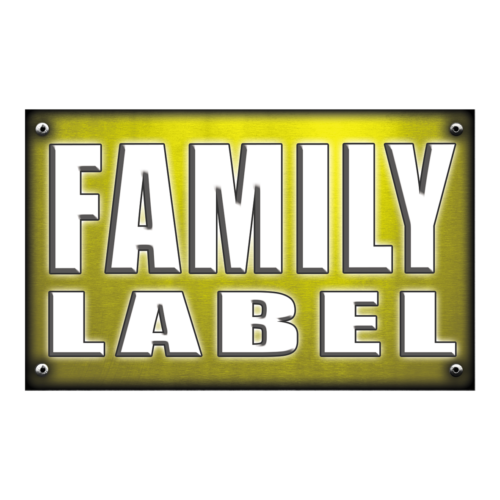 Family label